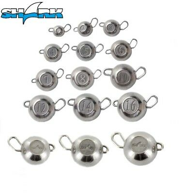 TUNGSTEN CHEBURASHKA from SHARK Sinker JIG HEAD BALL Drop Shot Weight Flexi Head