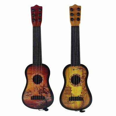 43cm Children Guitar 6-String Ukulele Adjustable Tuners Musical Instrument WA