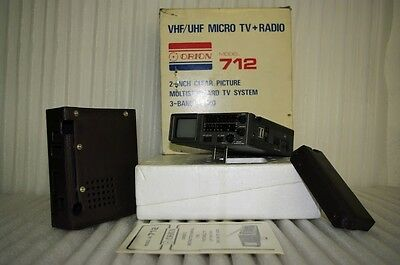 Orion 712 Radio-Tv Portatile Vintage Anni 80
