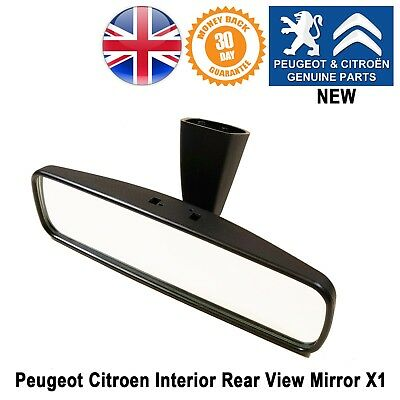 Citroen Interior Rear View Mirror C3 C4 Picasso C5 8153LN Genuine Berlingo NEW