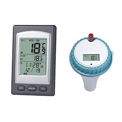 Wireless Thermometer In Swimming  Pool Spa Hot Tub SSterproof  Thermometer SS