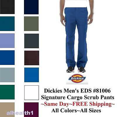 Dickies Scrub Pant 81006 EDS Men's Zip Fly REG & TALL 14 Colors ~Free Shipping~