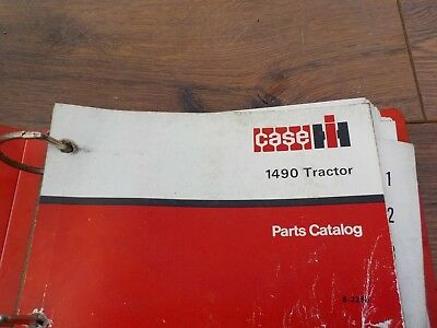 David Brown 1490 Tractor Parts Catalog Catalogue  VAT Included