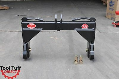 Tool Tuff 3-Point Tractor Quick Hitch Category CAT 2  Farm Implement W/Bushings