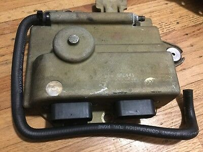 1999 Evinrude 90HP ECU & IGNITION MODULE 0586441 586441 FICHT V4
