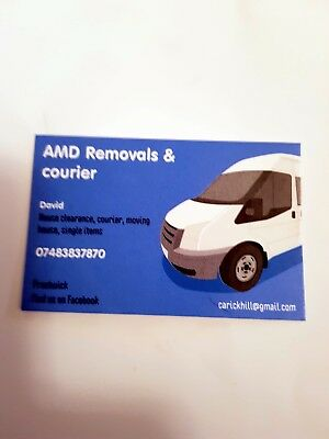 Man & Van .A.MD Removal & COURIERS .Do not take buy now. PRESTWICK AYRSHIRE