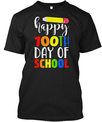 100th Day Of School Pencil T - Happy Hanes Tagless Tee T-Shirt