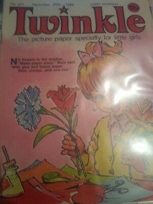Twinkle Comic for Little Girls. No.671 November 29th 1980.