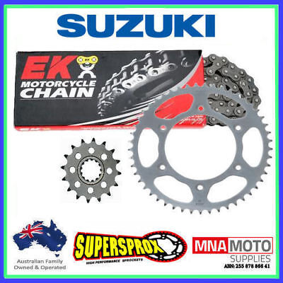 Suzuki DR 650SE (520p) 2003-2016 15/43 QX-ring chain & Steel sprocket kit