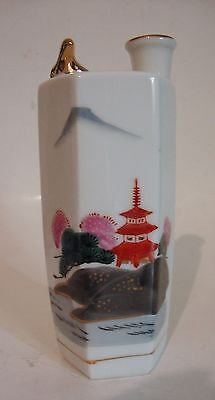 Vintage Kamotsuru Sake Bottle Whistling Bird - Japan