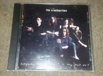 The Cranberries CD Everybody Else Is Doing It, So Why Can't We? FREE SHIPPING