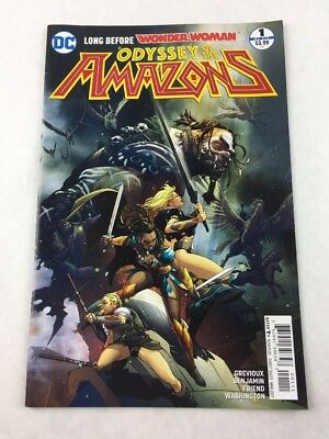 Kevin Grevioux DC 2017, 1st Print NEW Odyssey of the Amazons  TPB