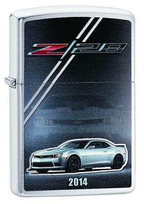 Zippo Lighter - Chevy Camaro Z28 2014 Brushed Chrome - ZCI1403952