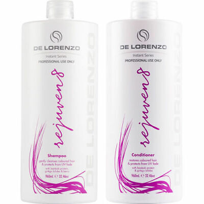 De Lorenzo Rejuven8 Shampoo AND Conditioner 750ml with Pumps