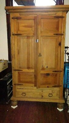 Tree Trunk Cabinet  -   WOW  LOOK AT THIS BEAUTY *****Reduced*****