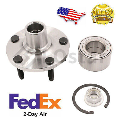 Front Wheel Hub & Bearing Assembly Fits 11-14 Ford Edge 11-15 Lincoln Mkx