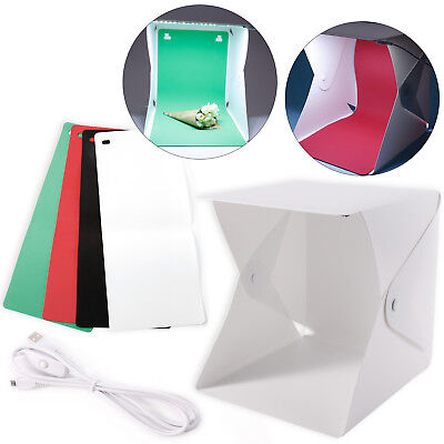 LED Lighting Cube Box Table Top Photo Shooting Tent for Product Photography
