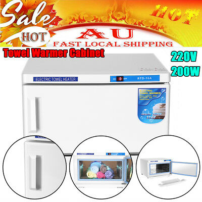 New UV Towel Sterilizer Warmer Cabinet Disinfection Heater Hot Hotel Salon Spa