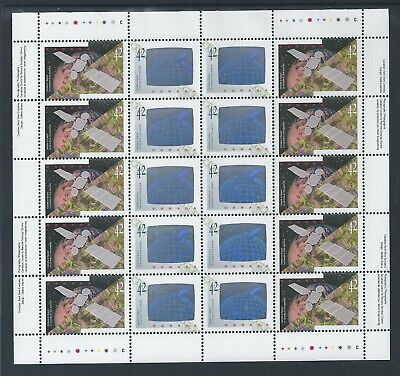 Canada in Space #1442a Full Pane Sheet MNH