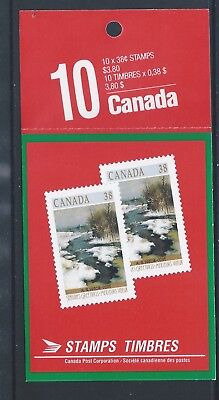 Canada Booklet 1989 Christmas #BK107 MNH