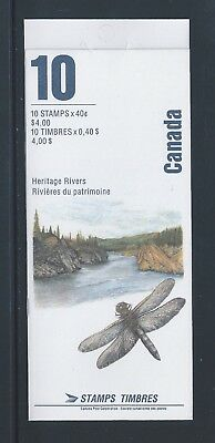Canada Booklet 1991 River Heritage #BK131b MNH ** Free Shipping **