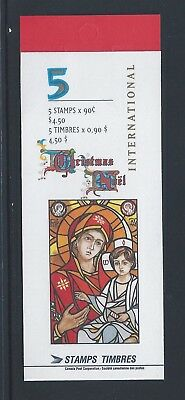Canada Booklet 1997 Madonna and Child #BK204b MNH ** Free Shipping **