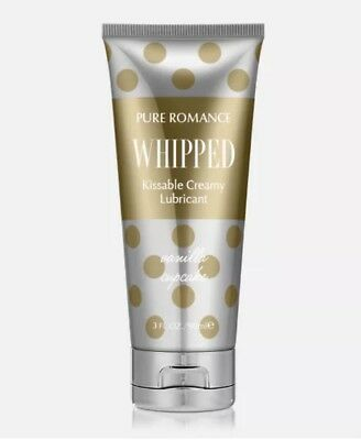 Pure Romance, Kissable Whipped Lubricant, 90ml, Vanilla Cupcake. 💖