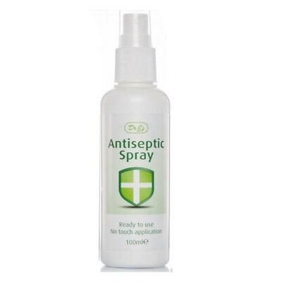 Dr J's Johnson Antiseptic Spray Ready To Use No Touch Application 100ml