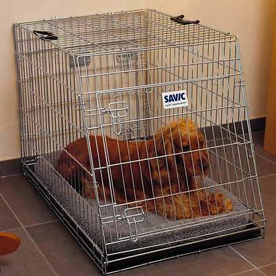 Savic Durable Metal Wire Residence Dog Car Crate 76cm