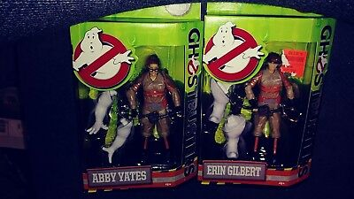 Ghostbusters Brand New Lot Of 6 Inch Action Figures Erin And Abby Sealed 2016