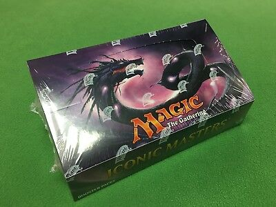 MTG Iconic Masters BOOSTER BOX Factory Sealed Magic the Gathering