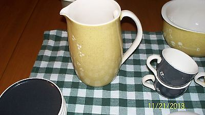 Russel Wright White Clover Golden Spice Pitcher with Lid RARE VHTF!!