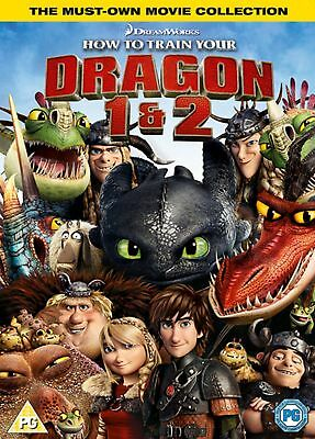 How to Train Your Dragon/How to Train Your Dragon 2 [DVD]