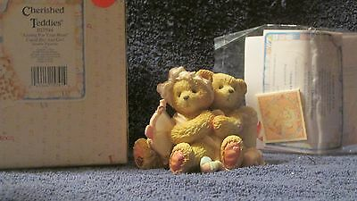 Cherished Teddies Aiming For YourHeart 103594