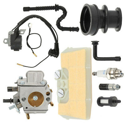 Carburetor MS390 MS290 MS310 029 039 Ignition coil Air Filter & Boot For STIHL
