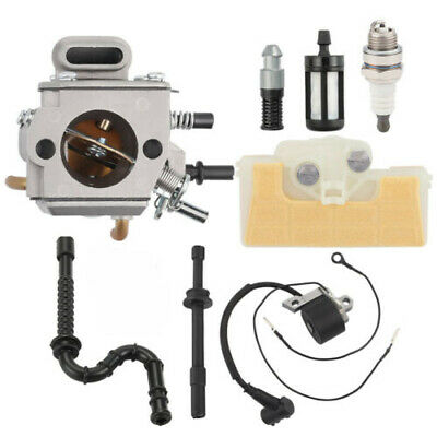 Ignition coil Carburetor For STIHL 029 039 MS290 MS310 MS390 Chainsaw Filter Kit