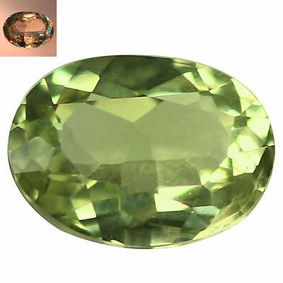 0.39 Ct Premium Oval Cut 5 x 4 mm AAA Color Change Turkish Diaspore