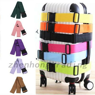 Adjustable Luggage Straps Suitcase Packing Belt Travel Buckle Baggage Ties