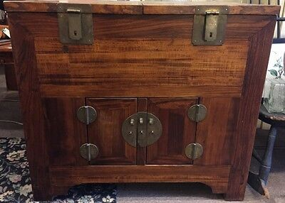 19Th Century R.w. Finish Money Chest