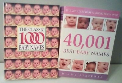 baby name books the classic 1000 baby names 40,001best baby names book