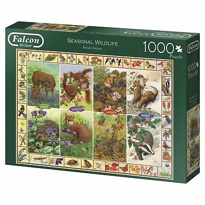 Seasonal Wildlife 11200 Puzzle Falcon Jumbo 1000 Teile NEU OVP