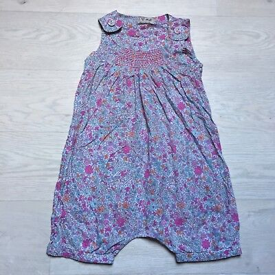 Next Floral Summer Playsuit Age 2-3 Years