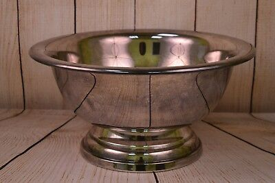 EPCA Silverplate by Poole Punch Bowl