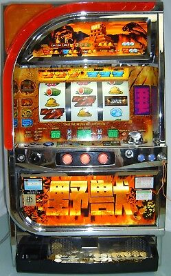 slot machine - RODEO Yajyu Japanese pachislo skill stop machine