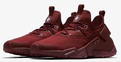 38646ab74a92 Nike Air Huarache Run Drift Ah7334 600 Team Red (Maroon) white - Mesh