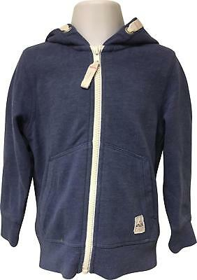 PRE-OWNED Girls Next Blue Hooded Jacket Size 3-4 Yrs EK214