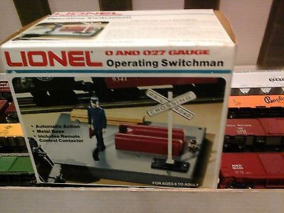 Lionel - O And O27 Gauge - Operating Switchman 6-2128