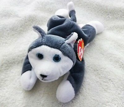 ... available 10b2a 917e8 Ty Beanie Baby Nanook 1996 Retired with Tags Husky  Dog Beanie Babies Toy ... ea83def43a97