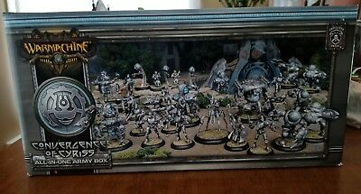 All-in-one Army Box Convergence of Cyriss Warmachine Miniatures New in Box