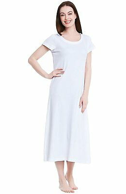 ALEXANDER DEL ROSSA Womens Cotton Knit Nightgown dbd5e5b5e
